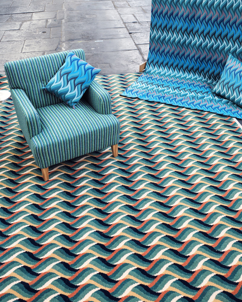 25 years of Alternative Flooring - winning patterned carpet for Campaign for Wool