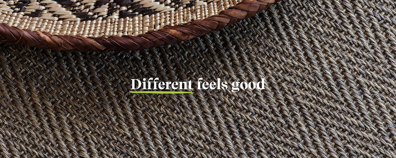 Different Feels Good strapline as shown on the NEW Alternative website